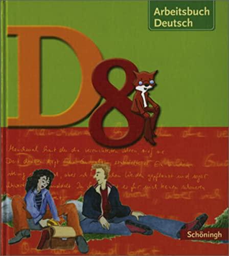 9783140260183 Arbeitsbuch Deutsch D 8 Schlerbuch Realschule