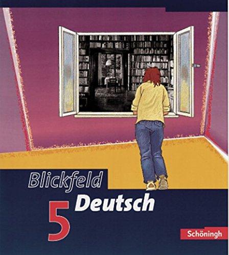 9783140288743: Blickfeld Deutsch. Schülerband 5. Klasse 9