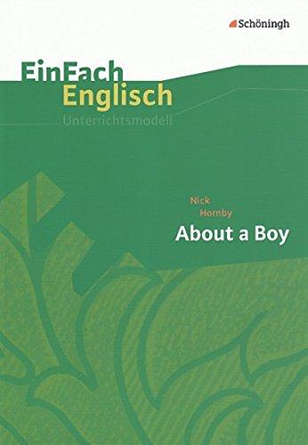 9783140412452: Nick Hornby, About A Boy