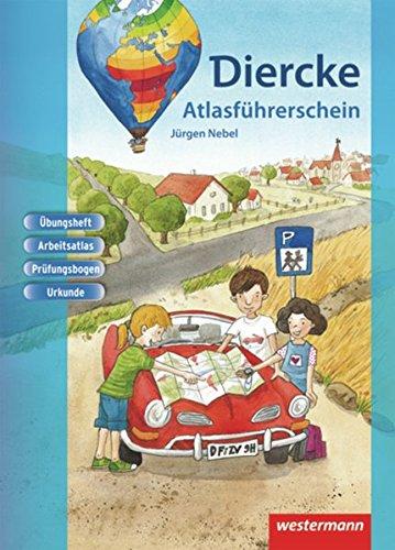 9783141000214: Diercke Weltatlas. Atlasführerschein. Arbeitsheft: Ausgabe 2008