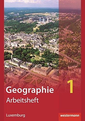 9783141001839: Diercke Geographie 1. Arbeitsheft. Ausgabe für Luxemburg