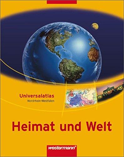 9783141002300: Heimat und Welt. Universalatlas. Nordrhein-Westfalen