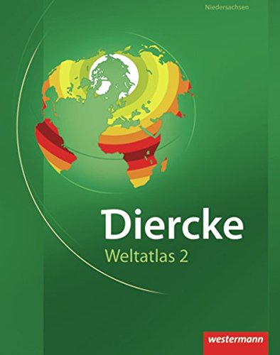 9783141007541: Diercke Weltatlas 2: Diercke Weltatlas. Ausgabe 2. Niedersachsen