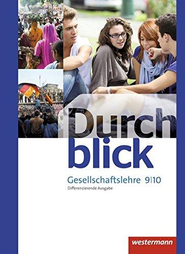 9783141104271: Durchblick Gesellschaftslehre 9 / 10. Schülerband. Niedersachsen: Ausgabe 2014