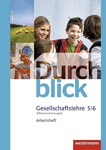 9783141104288: Durchblick Gesellschaftslehre 5 / 6. Arbeitsheft. Niedersachsen: Ausgabe 2014