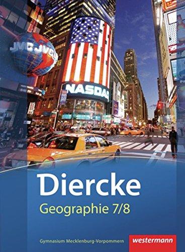 9783141148909: Diercke Geographie 7 / 8. Schülerband. Mecklenburg-Vorpommern