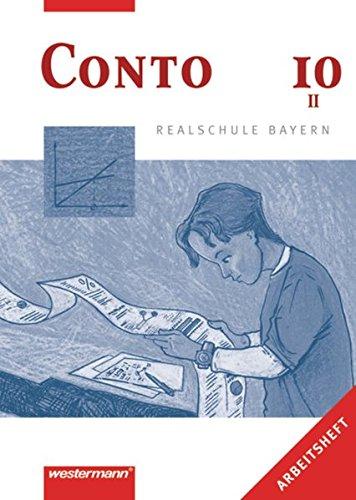 9783141161205: Conto 10. Arbeitsheft. Realschulen. Bayern