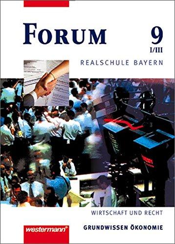 9783141161229: Forum 9. Schülerbuch. Realschule. Bayern.