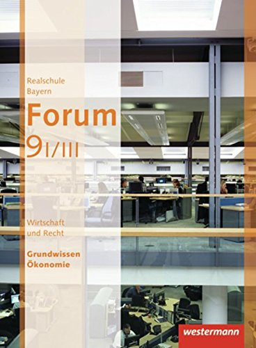 9783141161359: Forum 9. Schülerband. Wirtschaft und Recht