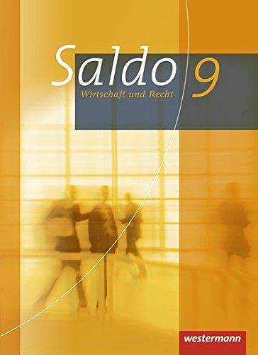 9783141162097: Saldo 9. Schülerband. Wirtschaft und Recht. Gymnasium. Bayern