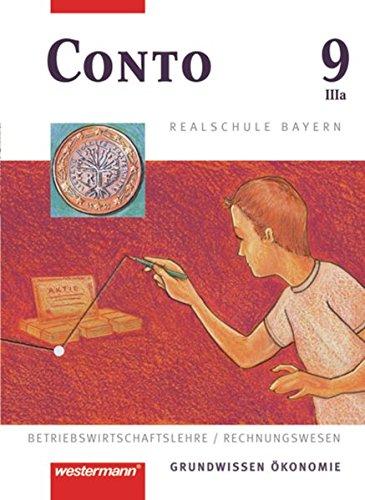9783141162875: Conto 9 (IIIa). Realschule. Bayern