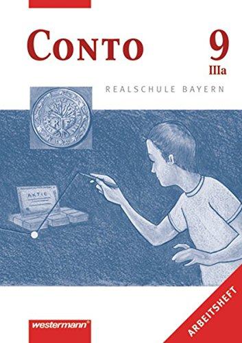 9783141162974: Conto 9 (IIIa). Arbeitheft. Realschule. Bayern