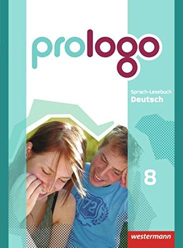 prologo 8. Sch?lerband. Grundausgabe. Hauptschule: Westermann Schulbuch