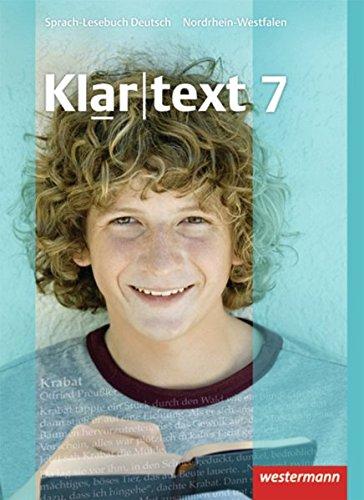 9783141201772: Klartext 7. Schülerband. Realschule. Nordrhein-Westfalen