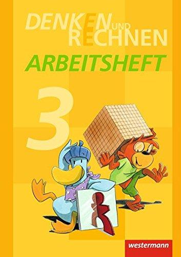 9783141210095: Denken und Rechnen 3. Arbeitsheft. Grundschulen in den östlichen Bundesländern: Ausgabe 2013