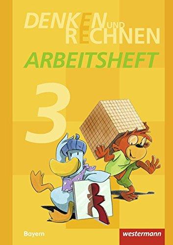 9783141210316: Denken und Rechnen 3. Arbeitsheft. Grundschulen. Bayern