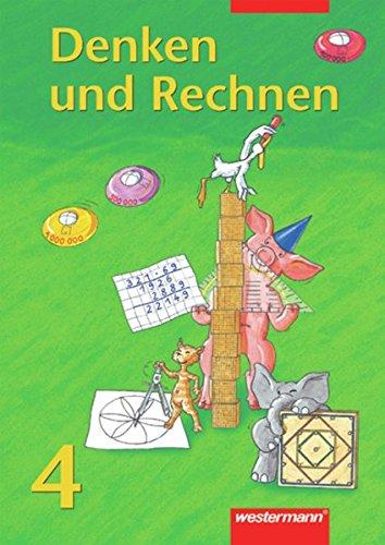 9783141212440: Denken und Rechnen - neu. Mit Euro: Denken und Rechnen 4. Schülerband. Bremen, Hessen, Niedersachsen, Nordrhein-Westfalen, Rheinland-Pfalz, Saarland, Schleswig-Holstein