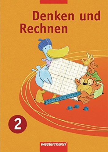 9783141212921: Denken und Rechnen 2. Sch�lerband. Ausgabe Ost: Zu den Standards: Berlin, Brandenburg, Mecklenburg-Vorpommern, Sachsen, Sachsen-Anhalt, Th�ringen
