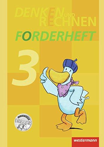 9783141213386: Denken und Rechnen 3 Zusatzmaterialien. Forderheft: Ausgabe 2011