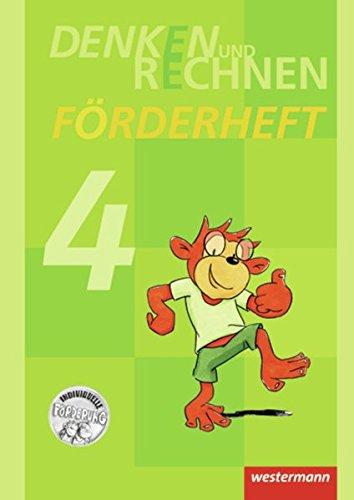 Denken und Rechnen 4. Zusatzmaterialien. Förderheft -: Westermann Schulbuch