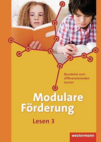 9783141221039: Modulare Förderung 3. Arbeitsheft Lesen.: Für den Deutschunterricht