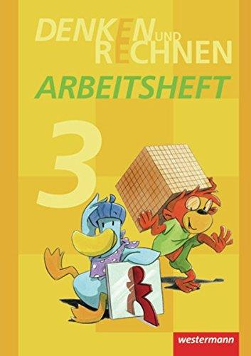 9783141223231: Denken und Rechnen 3. Arbeitsheft. Grundschule. Hamburg, Bremen, Hessen, Niedersachsen, Nordrhein Westfalen, Rheinland-Pfalz, Saarland, Schleswig Holstein