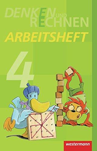 9783141223248: Denken und Rechnen 4. Arbeitsheft. Grundschule. Hamburg, Bremen, Hessen, Niedersachsen, Nordrhein-Westfalen, Rheinland-Pfalz, Saarland und Schleswig-Holstein: Ausgabe 2011