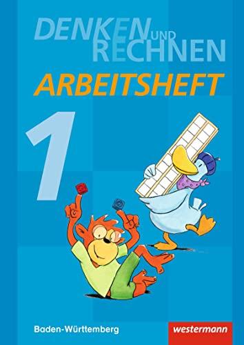 9783141223262: Denken und Rechnen 1. Arbeitsheft. Baden-Württemberg