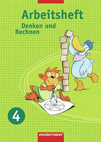 9783141224245: Denken und Rechnen 4. Arbeitsheft. Nordrhein-Westfalen, Hamburg, Bremen