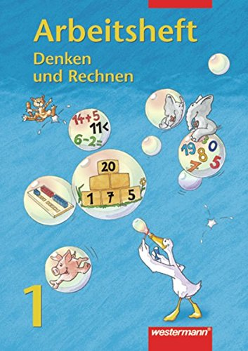 9783141224412: Denken und Rechnen 1. Euro. Arbeitsheft: Hamburg, Hessen, Nordrhein-Westfalen, Rheinland-Pfalz, Schleswig-Holstein, Saarland