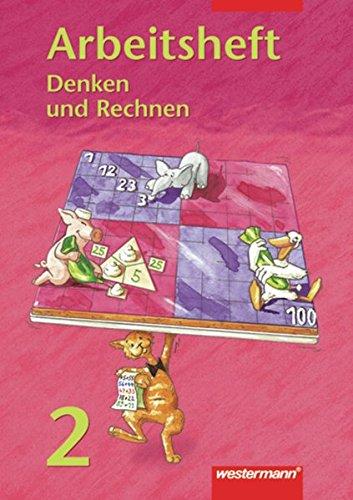 9783141224429: Denken und Rechnen 2. Arbeitsheft: Hamburg, Hessen, Nordrhein-Westfalen, Rheinland-Pfalz, Schleswig-Holstein, Saarland