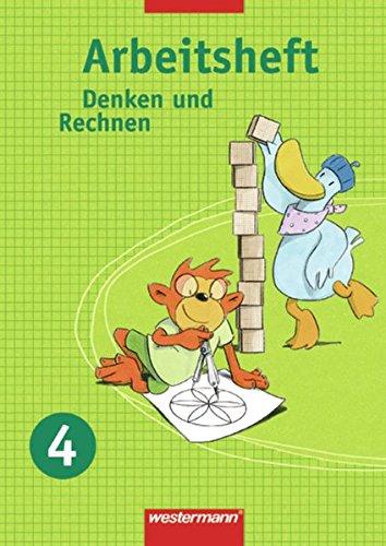 Denken und Rechnen 4. Arbeitsheft: Westermann Schulbuch