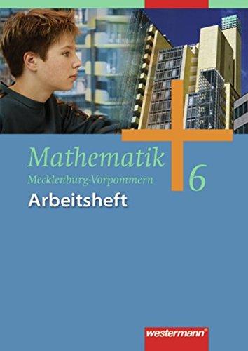 9783141228069: Mathematik 6. Arbeitsheft. Regionale Schule. Mecklenburg-Vorpommern