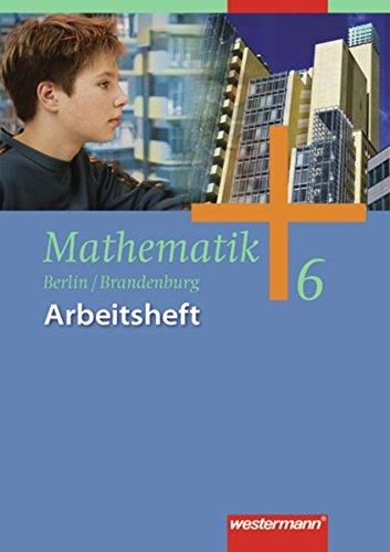 9783141228168: Mathematik Arbeitsheft 6. Ausgabe 2004 für das 5. und 6. Schuljahr in Berlin und Brandenburg