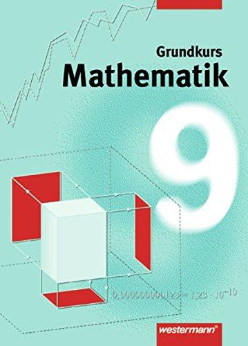 9783141228694: Mathematik 9. Grundkurs. Schülerbuch. Niedersachsen, Nordrhein- Westfalen. Gesamtschule. (Lernmaterialien)