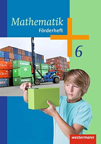 9783141235173: Mathematik 6. Förderheft. Arbeitshefte. Sekundarstufe 1