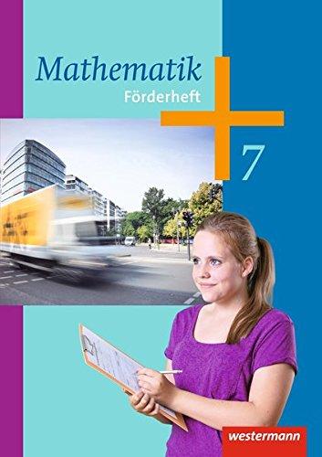 9783141235340: Mathematik 7. Förderheft. Arbeitshefte: Ausgabe 2014 - Sekundarstufe 1