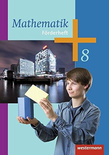 9783141235494: Mathematik 8. Förderheft. Arbeitshefte für die Sekundarstufe 1: Ausgabe 2014