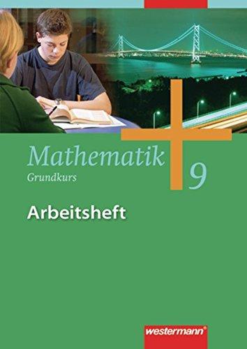 9783141238396: Mathematik 9. Arbeitsheft. Grundkurs. Gesamtschule. Hamburg. Nordrhein-Westfalen, Niedersachsen, Schleswig-Holstein