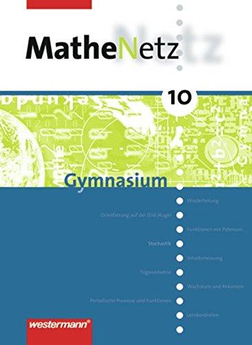 9783141239300: MatheNetz 10. Schülerbuch. Gymnasium