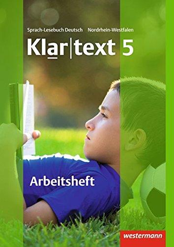 9783141241754: Klartext 5. Realschulen. Nordrhein-Westfalen
