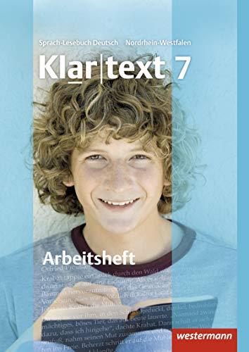 9783141241778: Klartext 7. Arbeitsheft. Realschule. Nordrhein-Westfalen