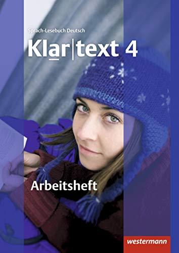 9783141241884: Klartext 4. Arbeitsheft. Mit Lösungen: plus interaktive Übungen. Ausgabe Südwest
