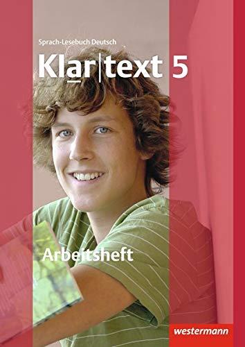 9783141241891: Klartext 5. Arbeitsheft mit Lösungen. Ausgabe Südwest: plus interaktive Übungen