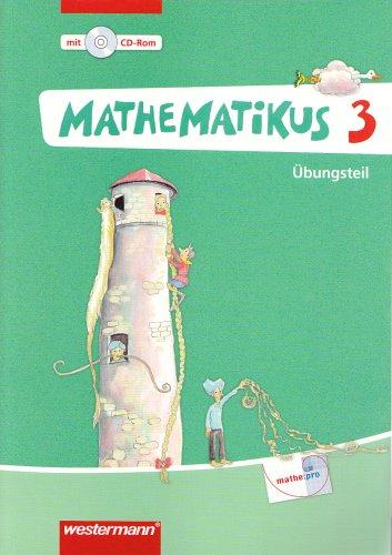 9783141243031: Mathematikus 3. Übungsteil. Allgemeine Ausgabe
