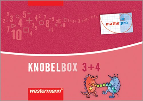 9783141244038: mathe:pro. Knobelbox 3 / 4. 96 Karten