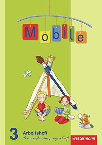 9783141244601: Mobile Sprachbuch 3. Arbeitsheft. Lateinische Ausgangsschrift. Allgemeine Ausgabe: Ausgabe 2010