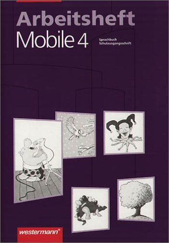 9783141248845: Mobile Sprachbuch, Arbeitshefte, neue Rechtschreibung, 4. Schuljahr