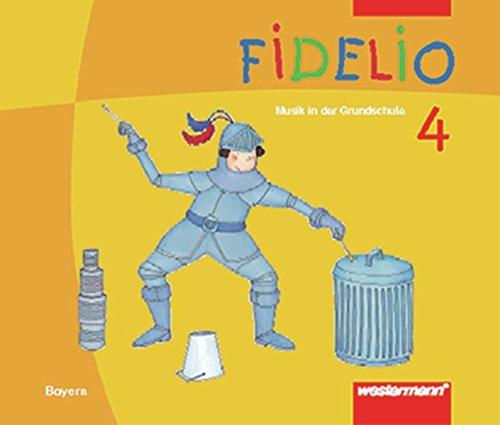 9783141250145: Fidelio 4. Schülerband. Bayern: Musik in der Grundschule (Fidelio Musikbücher)