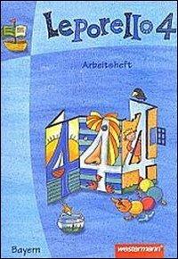 9783141251340: Leporello 4. Sprach-Lese-Buch. Arbeitsheft. Bayern